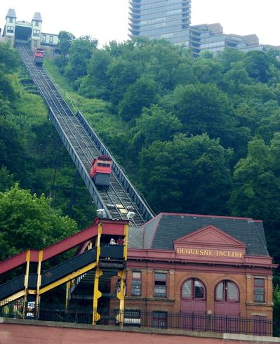 Pittsburgh Restaurants Duquesne Incline
